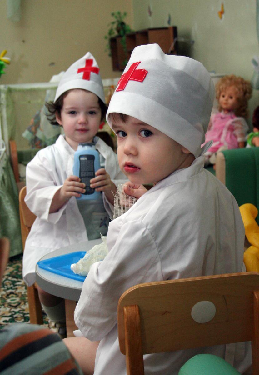 схема порядок одевания детей в доу